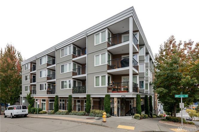 4752 41st Ave SW #202, Seattle, WA 98116 - 1 bed/1 bath