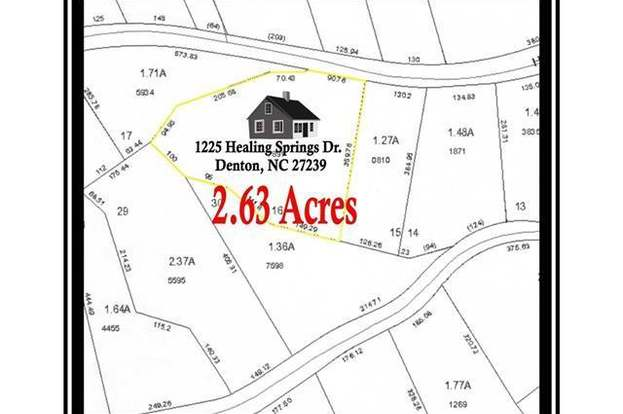 1225 Healing Springs Dr Unit 16 16a Denton Nc 27239 Mls 3308341