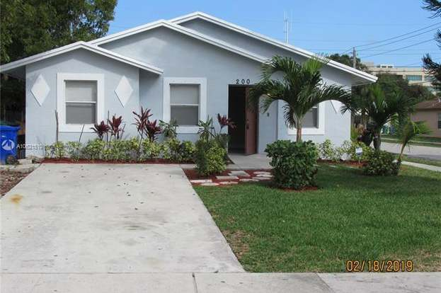 200 Nw 28th Ter Un Incorporated Broward County Fl 33311 3 Beds 2 Baths