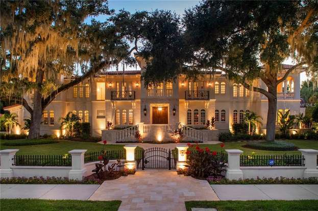 415 S Royal Palm Way Tampa Fl 33609 5 Beds 7 Baths