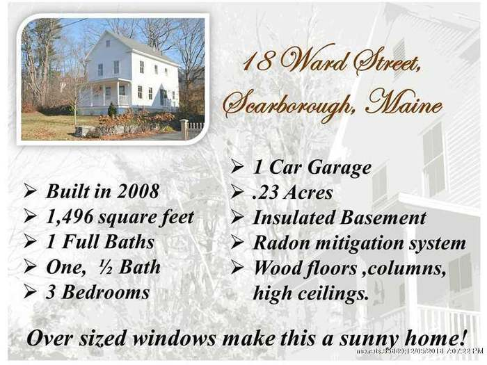 18 Ward St, Scarborough, ME 04074 - 3 beds/1 5 baths