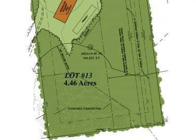 Vacant Land at address 220 Pinnacle Lane, Lot #13, Chester Forest