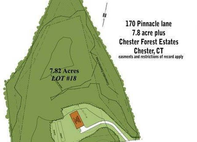 Vacant Land at address 170 Pinnacle Lane, Lot 18, Chester Forest