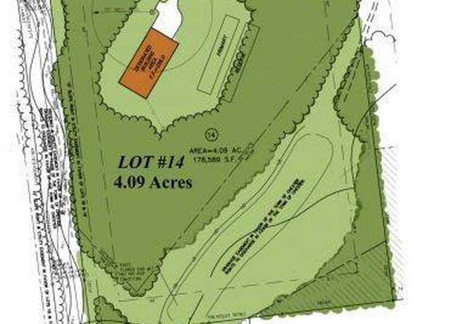 Vacant Land at address 190 Pinnacle Lane, Lot 14, Chester Forest