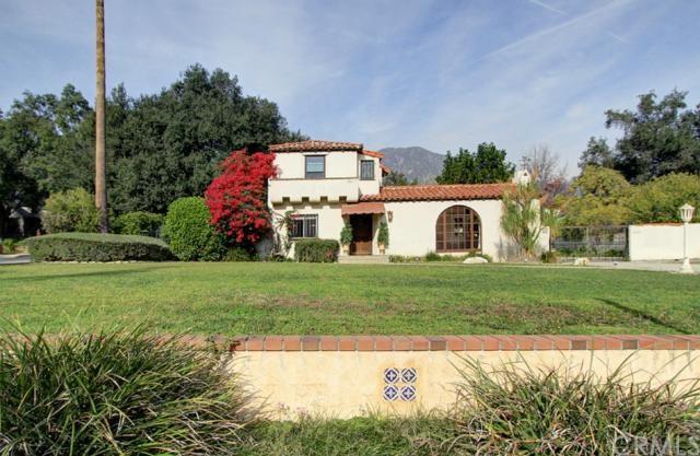 475 East Orange Grove Ave Sierra Madre Ca 91024 Mls