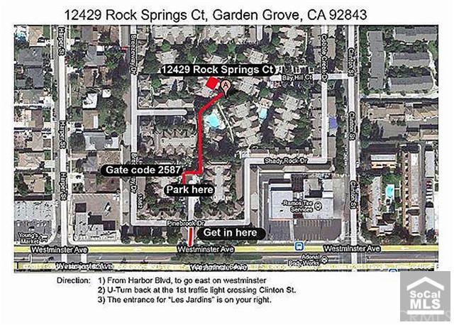 12429 ROCK SPRINGS Ct, Garden Grove, CA 92843   2 Beds/2 Baths