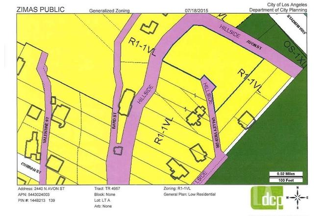 Valley View Dr Los Angeles CA MLS WS Redfin - Los angeles zoning map
