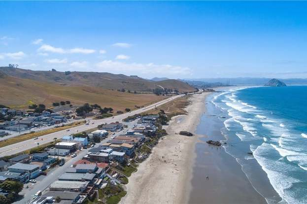 Cayucos California Map With Satellite View