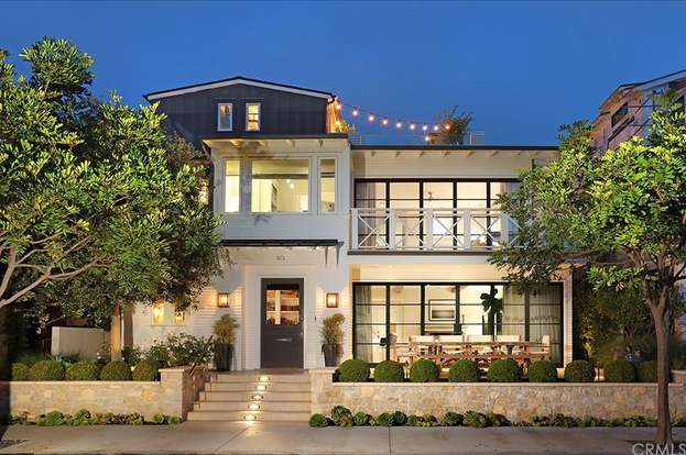110 Topaz Ave Newport Beach Ca 92662 5 Beds 6 Baths