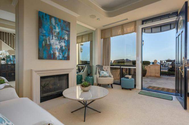 Coast Blvd  LA Jolla CA  MLS  Redfin - The living room la jolla