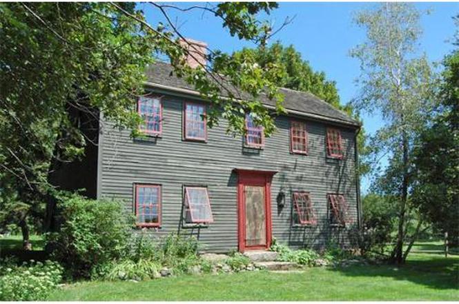 Rev. John Wise house, 85 John Wise Avenue, 1701