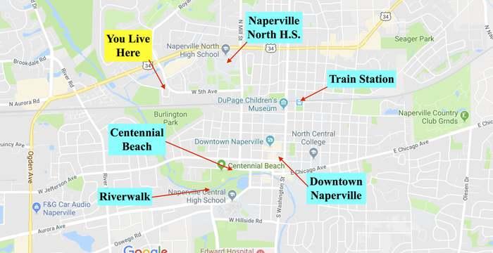 Subway Map Naperville.904 Elderberry Cir 104 Naperville Il 60563 2 Beds 2 5 Baths
