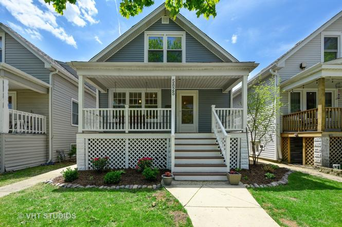 Chicago Bungalow Rehab For Sale In 60634: 5825 W Waveland Ave, Chicago, IL 60634