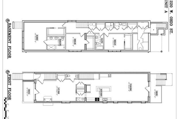 1220 W Ohio St #1, CHICAGO, IL 60642 - 3 beds/2 5 baths