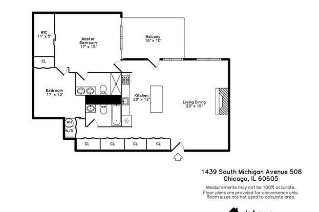 1439 S Michigan Ave 508 Chicago Il 60605 Mls 10549561 Redfin