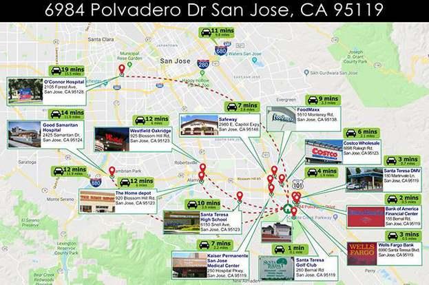 6984 Polvadero Dr, SAN JOSE, CA 95119 - 3 beds/3 baths