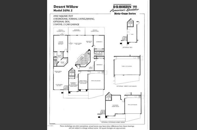 637 E BLACK DIAMOND Dr Casa Grande AZ 85122 MLS 5390181 – Dietz Crane Homes Floor Plans