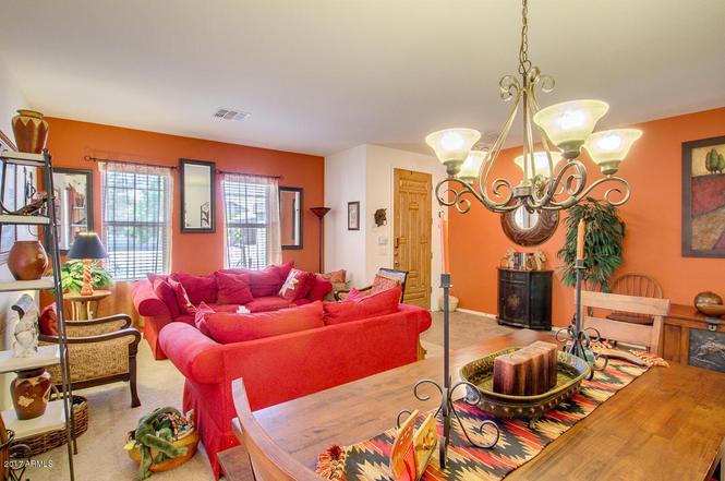 Living Room Queen Creek 2830 w mila way, queen creek, az 85142 | mls# 5599267 | redfin