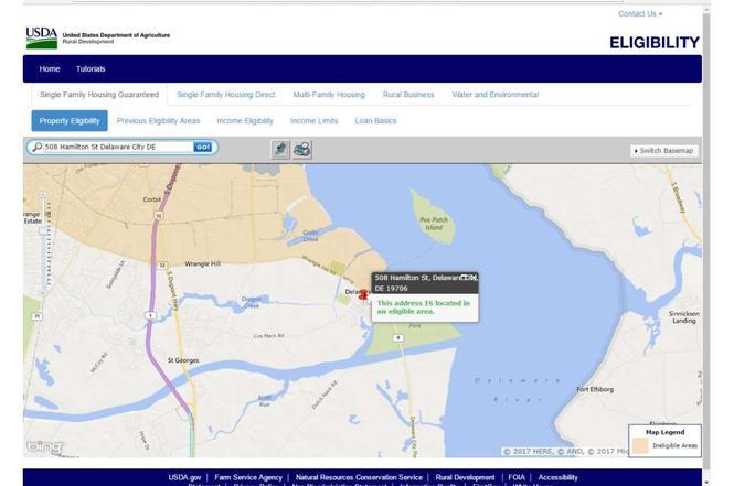 HAMILTON St DELAWARE CITY DE MLS Redfin - City map of delaware