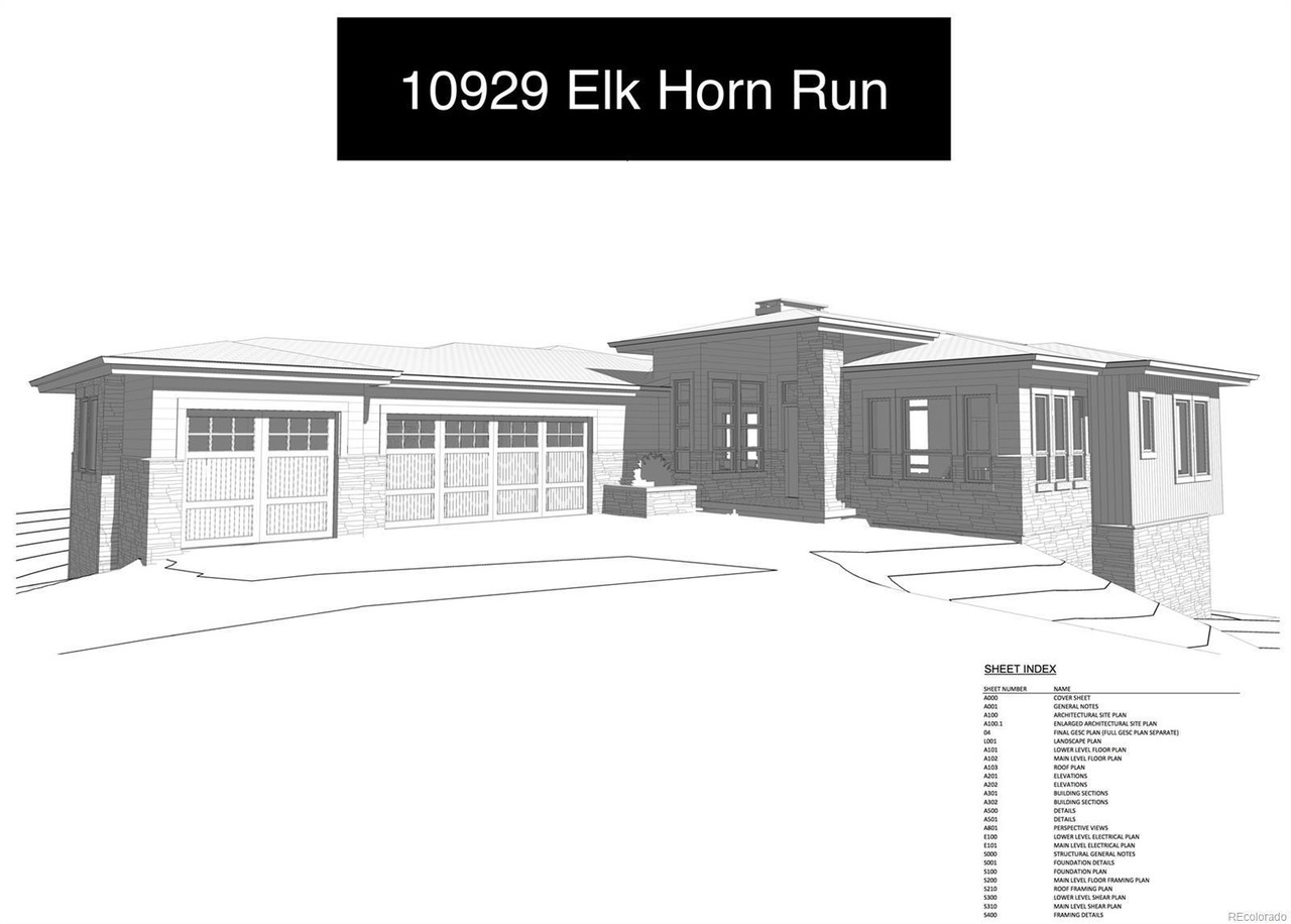 10929 Elk Horn Run Littleton Co 80125 Mls 2378202 Redfin Residential Electrical Plan General Notes